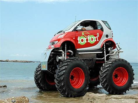 smart car lifted 12 crazy cool custom smart car designs bit rebels