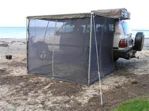 mcc tigerz11 awning and mosquito net mesh combo 2 5mx2m