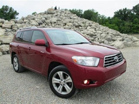 2008 Toyota Highlander Horsepower 2008 Toyota Highlander Sport 4wd Data Info And Specs