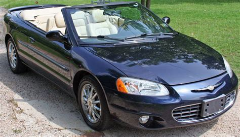 Chrysler Sebring 2001 Convertible by 2001 Chrysler Sebring Information And Photos Zombiedrive