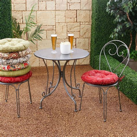 Concept Ideas For Bistro Cushions Design Awesome Patio Cushions Cool Outdoor Seat Cushion For Patio Chairs Bistro Chair