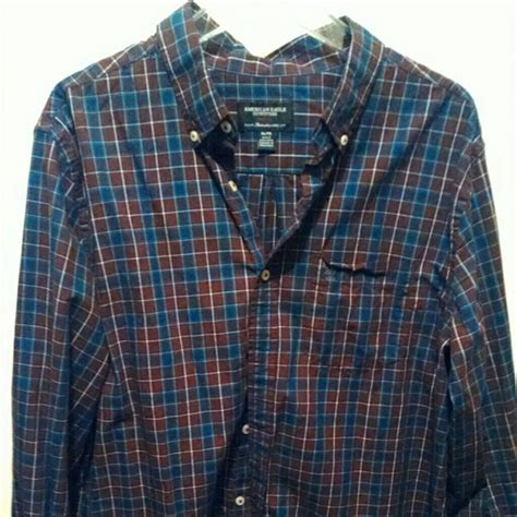 Plaid Shirt By American Eagle 69 american eagle outfitters other american eagle
