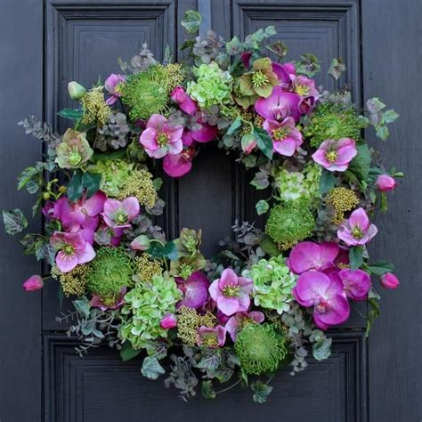 What Is The Best Size Wreath For Front Door