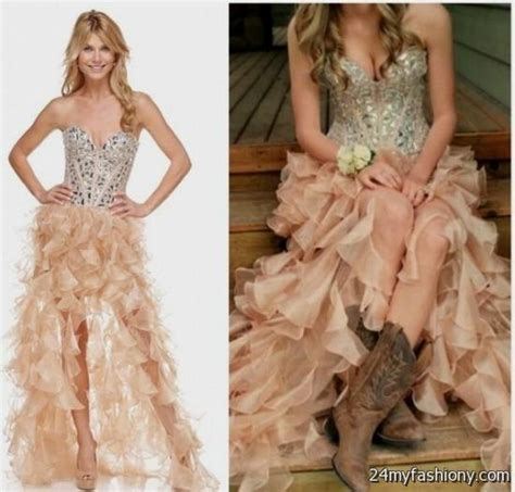 western prom dresses with boots 2016 2017 b2b fashion