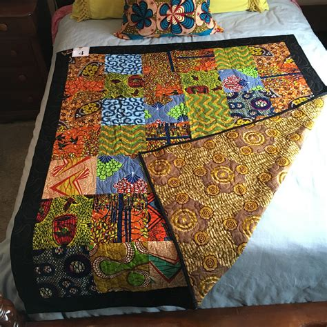 handcrafted quilt 61 x 52 q161204