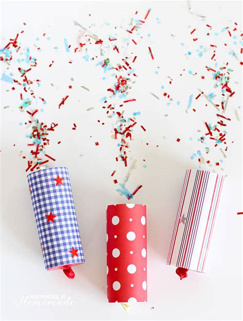 Confetti Propper diy confetti poppers for 4th of july happiness is