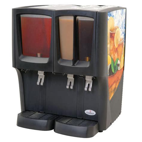 Juice Dispenser Crathco Crathco C 3d 16 22 Quot Cold Beverage Dispenser W 1 5 Gal 2 2 4 Gal Bowls 120v