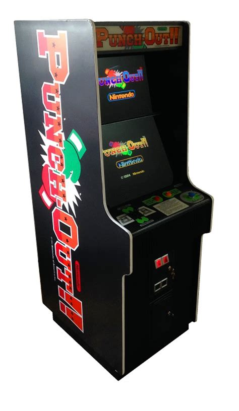 world of nintendo cabinet for sale punch out video arcade game for sale arcade specialties