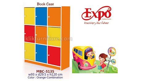 Rak Buku Warna mbc 5135 lemari buku warna warni expo sale
