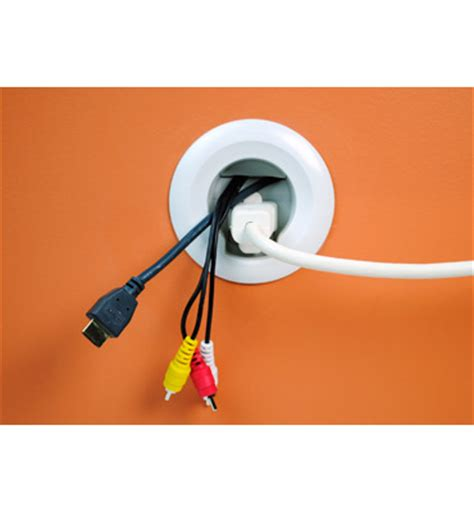 wall mount flat screen tv cable power kit | legrand