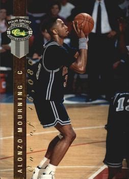 Basketball Card Skybox Ex 2001 1998 Alonzo Mourning 168 alonzo mourning gallery the trading card database