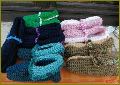 Chaussons De Lit by Chaussons De Lit Pour Adultes Rapides Au Crochet