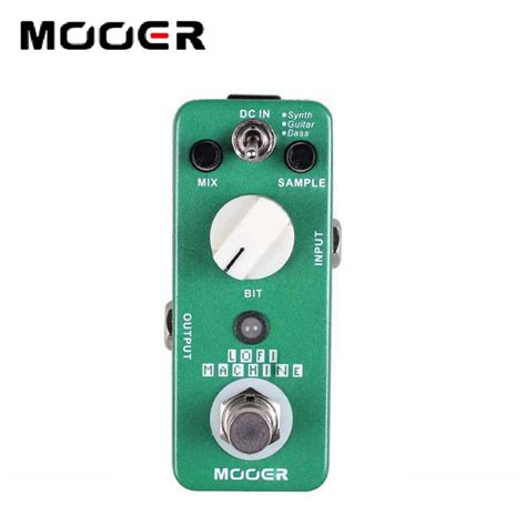 Sound Effects Machine Total Rate 0 Of 5 Reviews 0 Cartoo mooer lofi machine with wide range sling rate depth