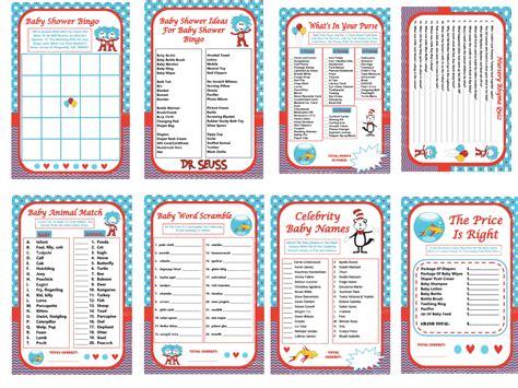 dr seuss baby shower printables dr seuss theme planning ideas supplies