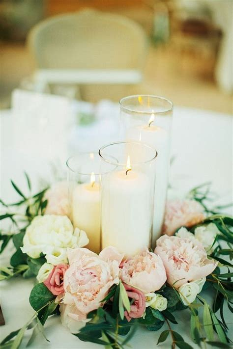 candle centerpiece ideas 25 best ideas about wedding centerpieces on