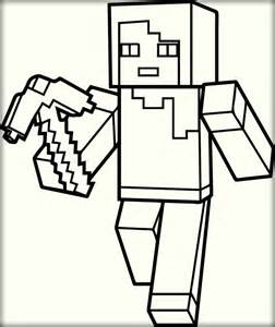 free minecraft coloring pages free minecraft printable pages color zini