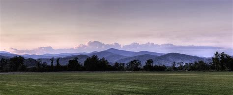 Landscapers Nc Mountain Sunset Carolina Landscape Photograph By