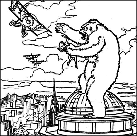 free coloring pages of king kong king kong coloring pages bestofcoloring com