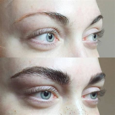 tattoo eyebrows canberra before and after my eyebrow tattoos waking up with my