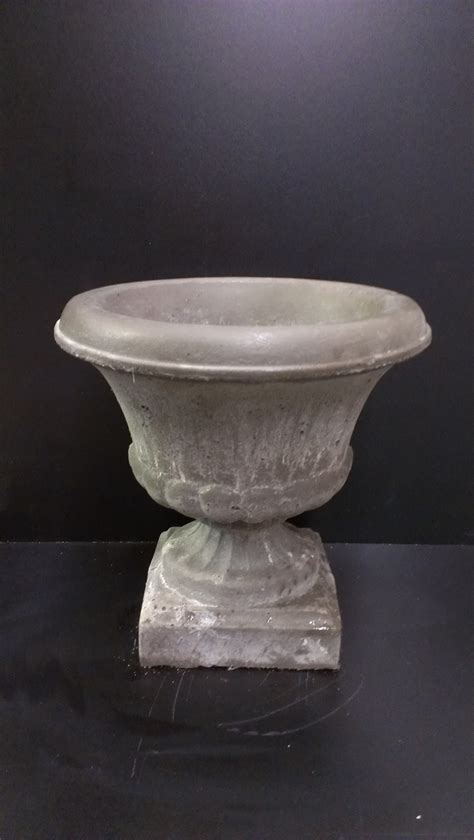 Concrete Urn Planter by Small Planter Urn Concrete