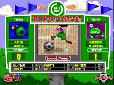 backyard soccer pc download lets play backyard soccer pc 1998 part 2 who needs