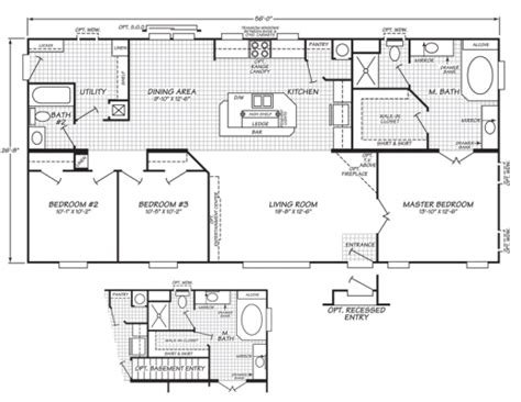 mobile home dimensions mobile home sizes design ideas residence plans floor