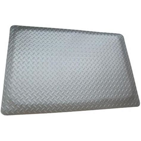rhino anti fatigue mats brite reflective metallic