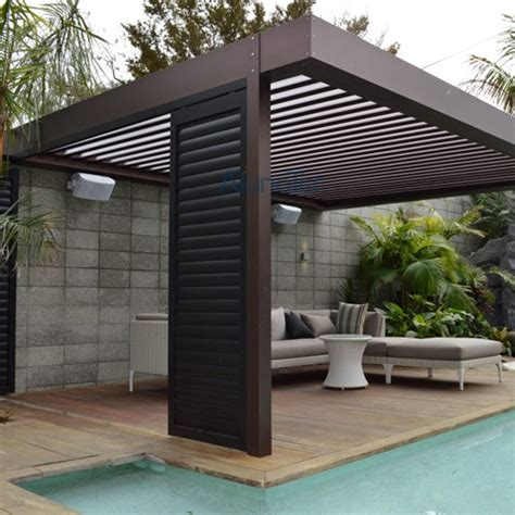 automatic aluminum louvered pergola kits buy aluminum pergola louvered pergola pergola kits