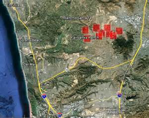 california bernardo near rancho santa fe wildfire