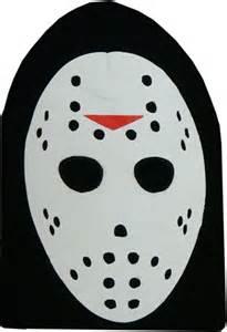 jason mask template jason voorhees friday the 13th costume ski mask