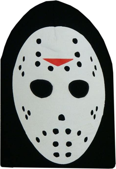 jason mask template jason voorhees friday the 13th costume ski mask