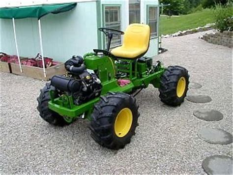 home built tractor plans pictures to pin on
