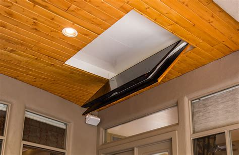 Ceiling Mount For Tv Drop Ceiling - folding ceiling tv mount cool patio flip tv outside
