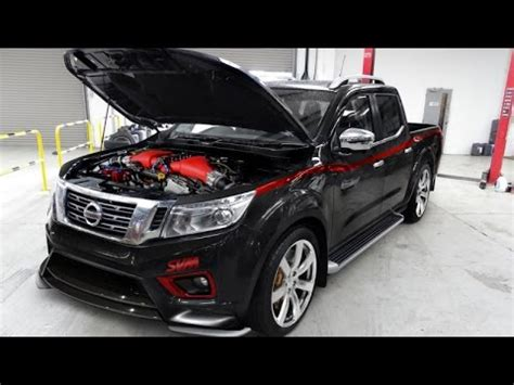 the nissan navara r is an aftermarket gt r pickup youtube