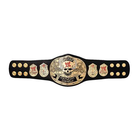 wwe smoking skull championship mini replica title belt