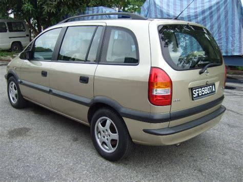 Image Gallery Opel Zafira 2002