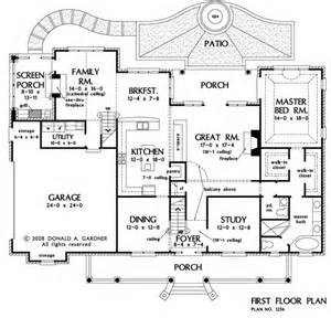 floor plans with master on main floor house plans master