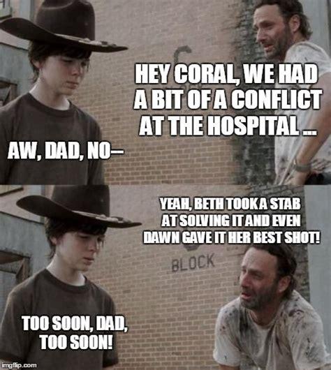 Walking Dead Meme Generator - the 25 best rick and carl meme ideas on pinterest rick