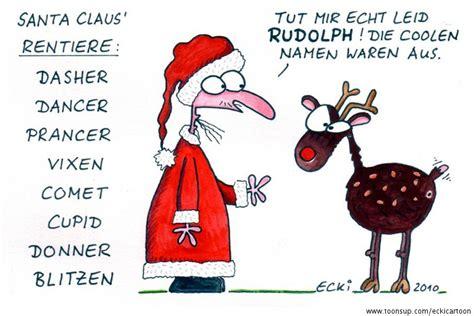 Vom Weihnachtsmann Briefvorlage santa claus rentiere