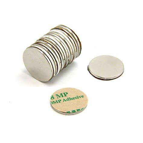Magnet Neodymium Diameter 1 2cm Ketebalan 2mm adhesive 20mm dia x 1 5mm n42 neodymium magnet 1 2kg