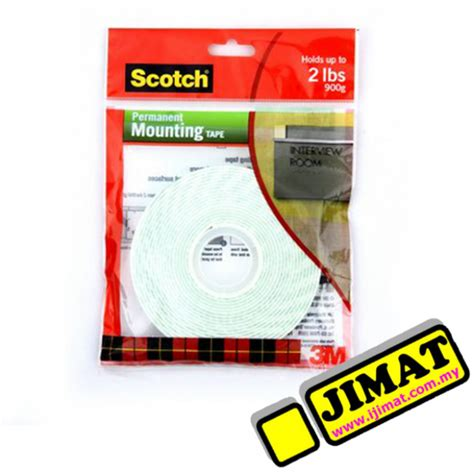 Scotch 3m Mounting 12 Mm X 3m 3m scotch mounting 4meter 12mm