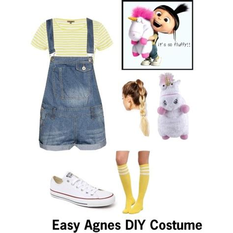 agnes  despicable  diy costume disney characters