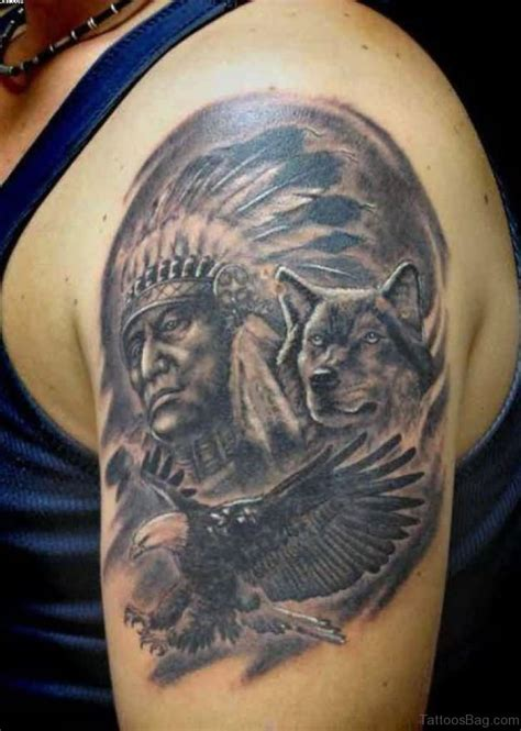black wolf tattoo 50 amazing wolf tattoos for shoulder