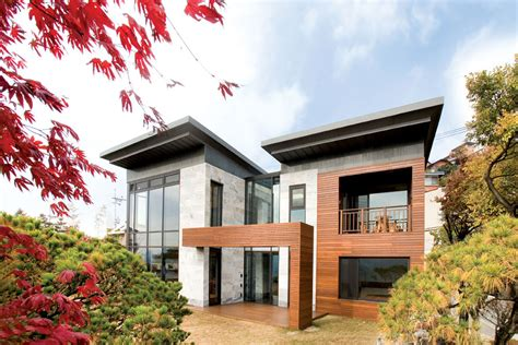 p house in south korea is a home of and modern living