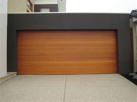 Modern Wood Garage Doors Wood Garage Doors Picture Ideas