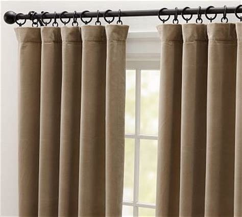 taupe velvet curtains velvet double width drape 100 x 84 quot taupe traditional