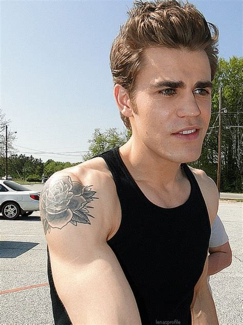 paul wesley tattoo paul wesley paul wesley photo hunt 13 and the hunt