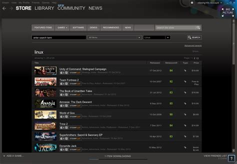 Search For On Steam Steam Linux Beta Launched How To Install It In Ubuntu Without Beta Invitation