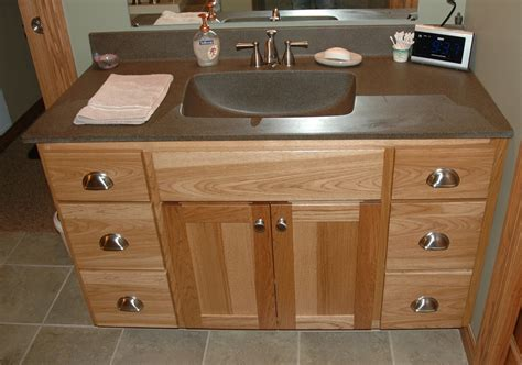 Hickory Vanity Cabinet by Bathroom Cabinets Cronen Cabinet And Flooring