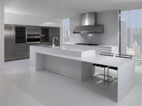 Solid Surface Kitchens Modified Acrylic Solid Surface Marbonex